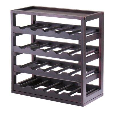 Winsome Kingston 20 Bottle Floor Wine Rack