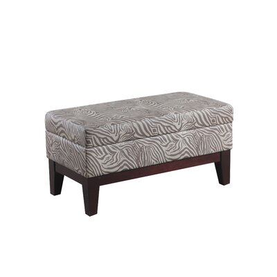 Bombay Heritage Riley Upholstered Storage Bedroom Bench