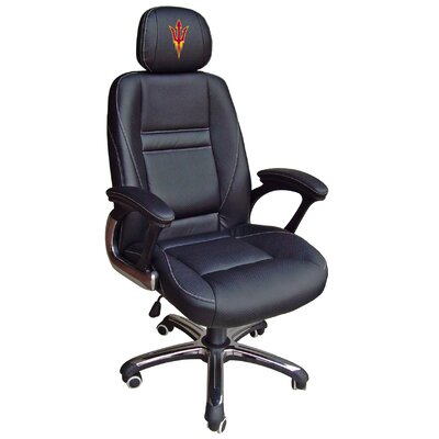 Tailgate Toss NCAA Office Chair with Lever Seat Height Control