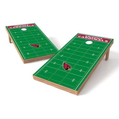 Tailgate Toss Nfl Football Field Cornhole Game Set Wayfair