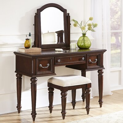 Darby Home Co Givens Vanity with Mirror