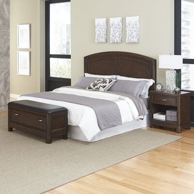 Home Styles Crescent Hill Panel 3 Piece Bedroom Set