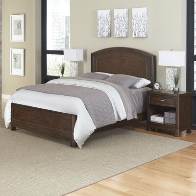 Home Styles Crescent Hill Panel 3 Piece Bedroom ..