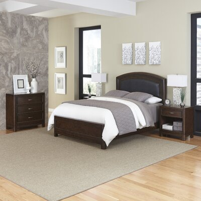 Home Styles Crescent Hill Panel 4 Piece Bedroom Set