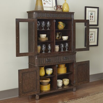 Home Styles Castaway China Cabinet