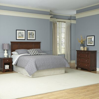 Home Styles Chesapeake Panel 3 Piece Bedroom Set