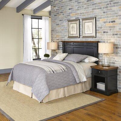 Home Styles Americana Platfrom 3 Piece Bedroom Set