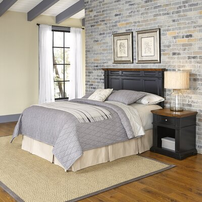 Home Styles Americana Platfrom 2 Piece Bedroom Set