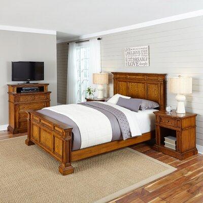 Home Styles Americana Panel 4 Piece Bedroom Set