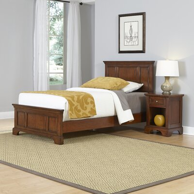 Home Styles Chesapeake Panel 2 Piece Bedroom Set