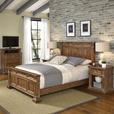 Home Styles Americana Vintage Panel 4 Piece Bedroom Set