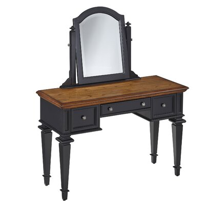 Home Styles Americana Vanity with Mirror