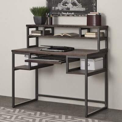 Home Styles Barnside Metro Computer Desk with Hutch