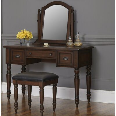 Home Styles Country Comfort Vanity with Mirror