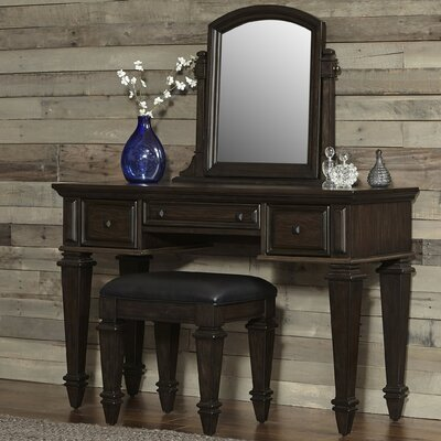Home Styles Prairie Vanity with Mirror