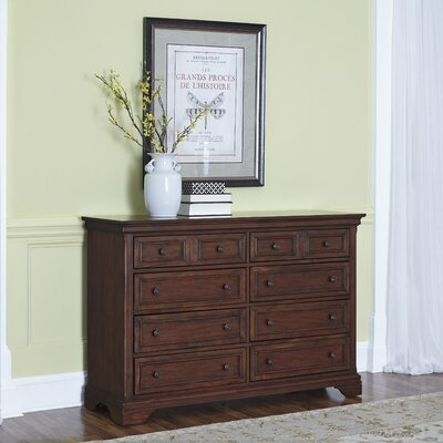 Darby Home Co Linthicum 8 Drawer Dresser