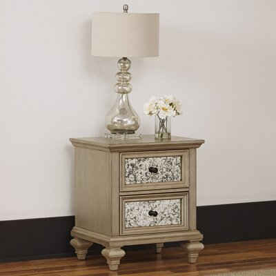 Home Styles Visions 2 Drawer Nightstand