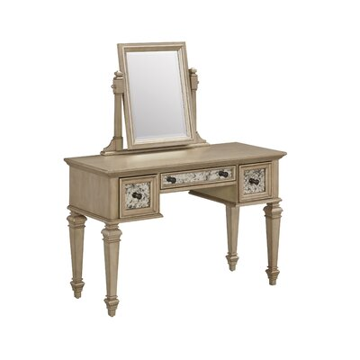 Home Styles Visions Vanity with Mirror