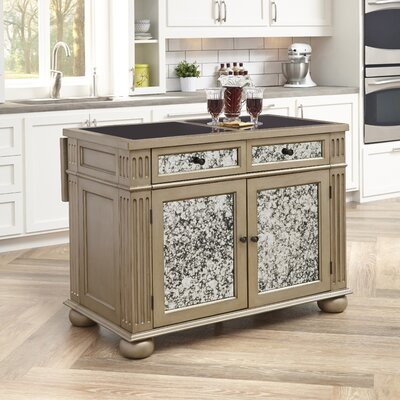 Home Styles Visions Kitchen Island with Granite Top