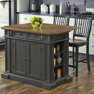 home styles americana kitchen island set wayfair ca home styles americana kitchen island wayfair