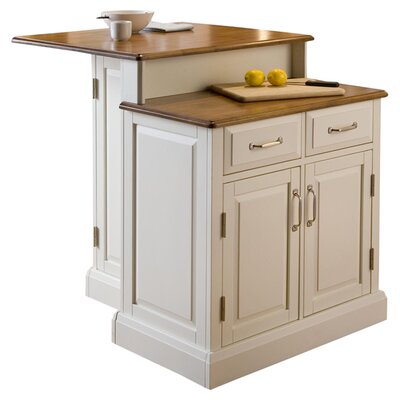 Home Styles Woodbridge Kitchen Island with Woode..