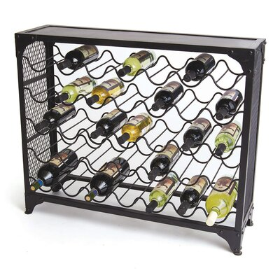 Hip Vintage 35 Bottle Floor Wine Rack