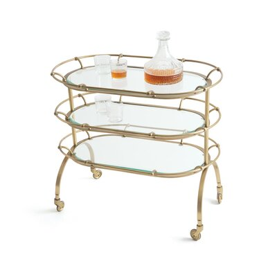 Hip Vintage Blenders Serving Cart