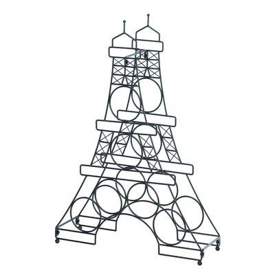 Zingz & Thingz Eiffel Tower 6 Bottle Tabletop Wine Rack