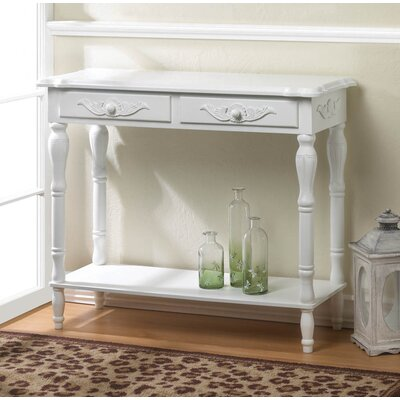 Zingz & Thingz Carved Hallway Table
