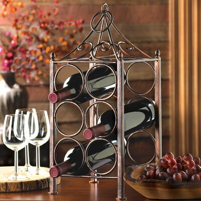 Zingz & Thingz 6 Bottle Tabletop Wine Rack