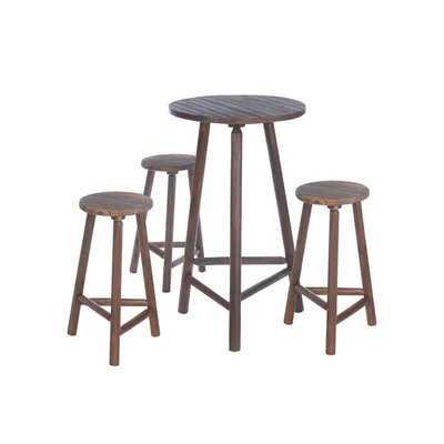 Zingz & Thingz 4 Piece Pub Table Set