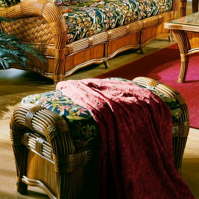 Spice Islands Wicker Kingston Reef Ottoman