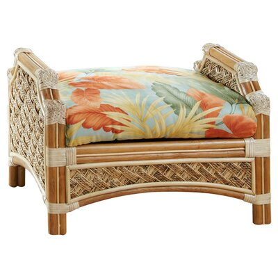 Spice Islands Wicker Mauna Loa Ottoman Image