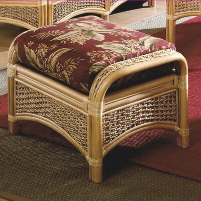 Spice Islands Wicker Ottoman Image