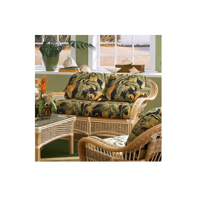 Spice Islands Wicker Islander'' Loveseat