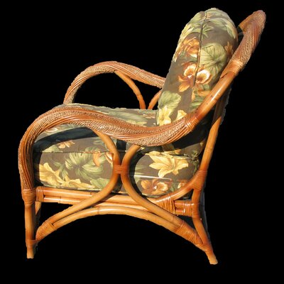 Spice Islands Wicker Caneel Bay Arm Chair