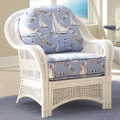 Spice Islands Wicker Regatta Arm Chair