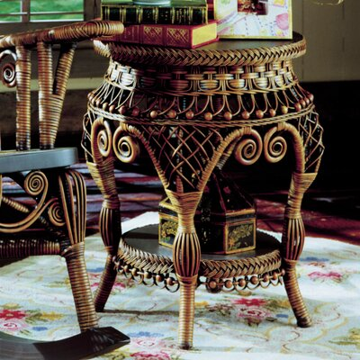 Yesteryear Wicker End Table