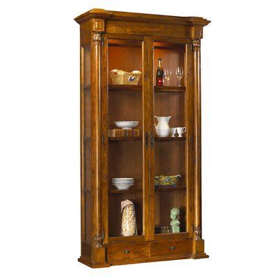 French Heritage Pyrenees Curio Cabinet