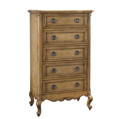 French Heritage Luberon 5 Drawer Chest