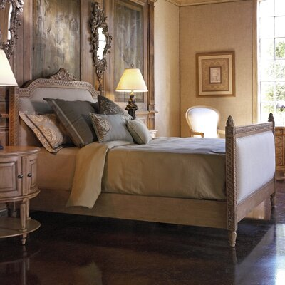 French Heritage Lilles Panel Bed
