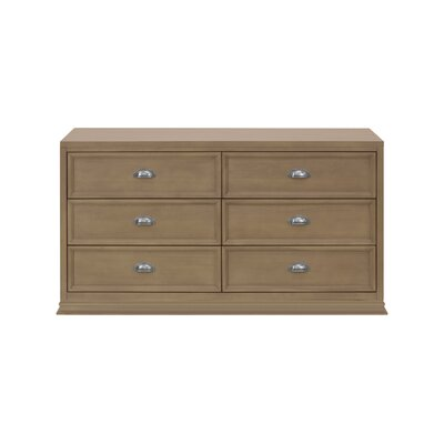 Franklin and Ben Mason 6 Drawer Double Dresser
