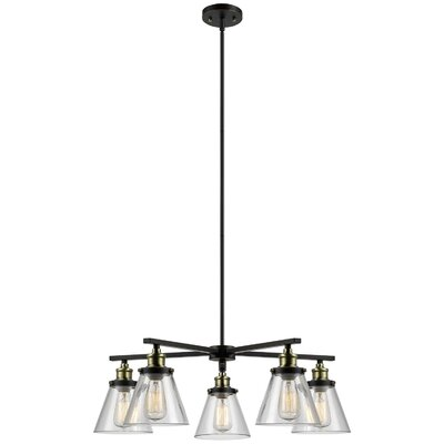 Globe Electric Company Shae 5-Light Shaded Chandelier & Reviews ...