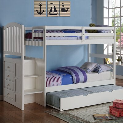Donco Kids Donco Kids Twin Bunk Bed with Trundle