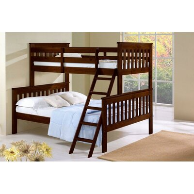 Donco Kids Twin over Full Standard Bunk Bed