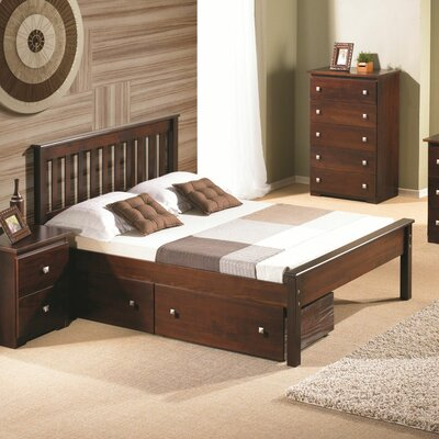 Donco Kids Contempo Full/Double Storage Platform Bed