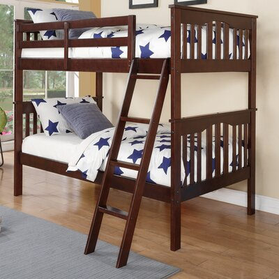Donco Kids Franklin Twin Slat Bunk Bed