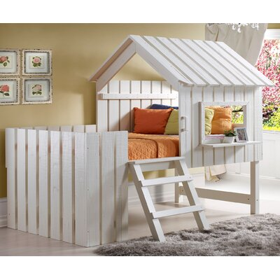 Donco Kids Cabana Twin Low Loft Bed