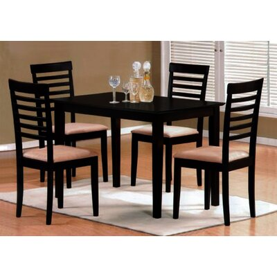 Wholesale Interiors Baxton Studio Jet Cheer 5 Piece Dining Set