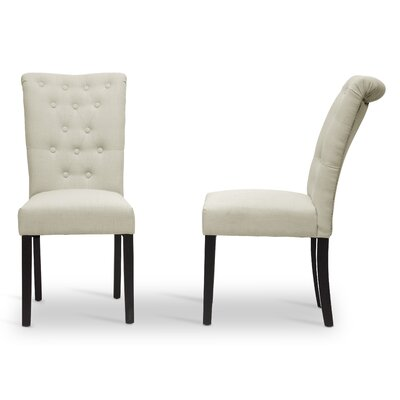 Wholesale Interiors Baxton Studio Brittany Parsons Chair (Set of 2)